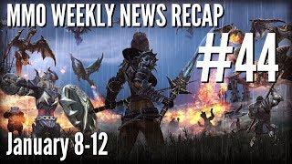 MMO Weekly News Recap #44   January 8-12