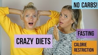 OUR CRAZY DIETING PAST Yoghurt Diet? Coke Obsession? 1000 calories a day?