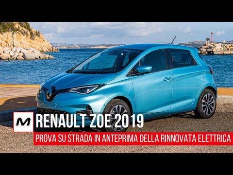 Renault Zoe 2019 | La prova su strada della city car elettrica