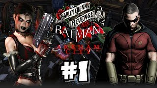 Batman Arkham City Armored Edition Wii U - (1080p) Harley Quinn's Revenge - Part 1