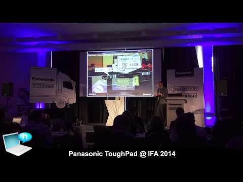 Panasonic ToughPad at IFA 2014