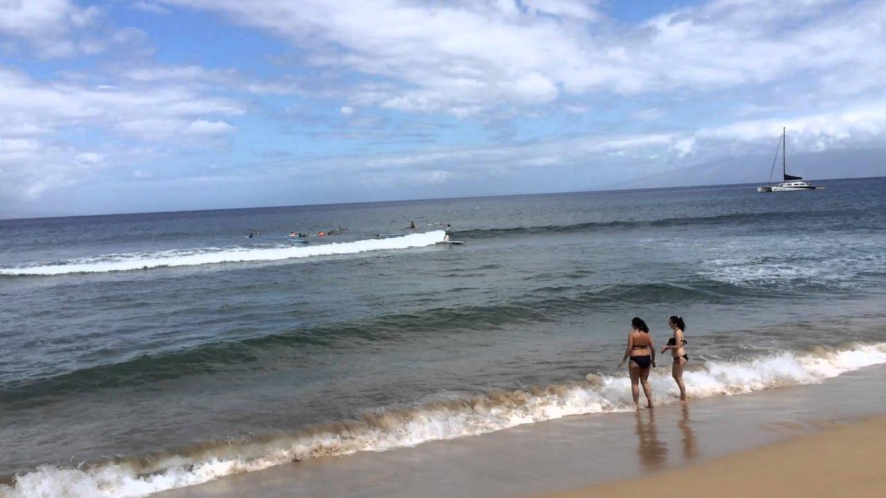 Endless Surfing Kaanapali Beach Maui