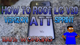 How To Root LG V20 ATT, SPRINT, VERIZON, F800L