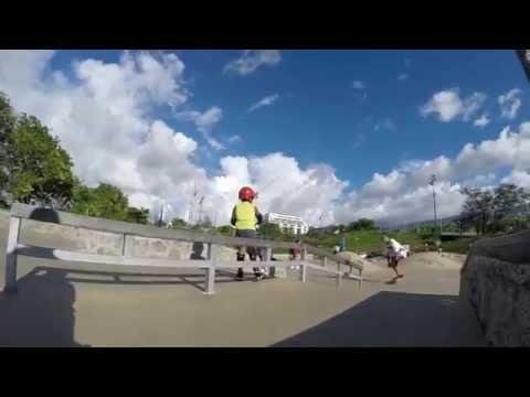 Skate plaza le Krater, île de la réunion