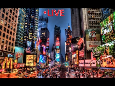 "Live: TIME SQUARE, New York City 24/7 | ""The City That Never Sleeps!"""