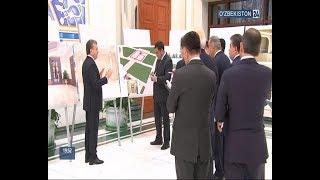 Президент Шавкат Мирзиёев 24 января 2019 года ознакомился с инвестиционными проектами в г.Ташкенте