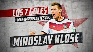 Download Video Los 7 Goles Más Importantes De: Miroslav Klose MP3 3GP MP4