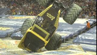 EarthShaker Driver Tristan England Lands an Awesome Save at Amalie Arena in Tampa