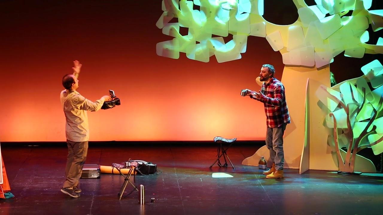 """Tráiler  de """"Amigo Félix"""" de Teatro Atópico"""