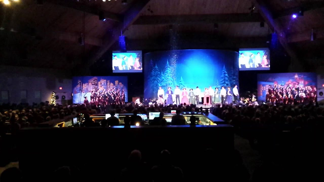 Hobe Sound Bible College Singing Christmas Tree