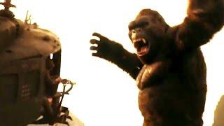 """Kong: A Ilha da Caveira - Comercial #4 """"Todos saúdam o Rei""""  [Tom Hiddleston, Samuel L Jackson]"""