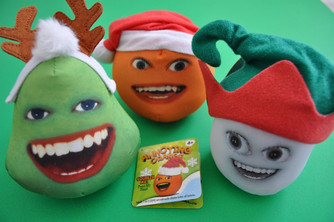 annoying orange toys pear - photo #13