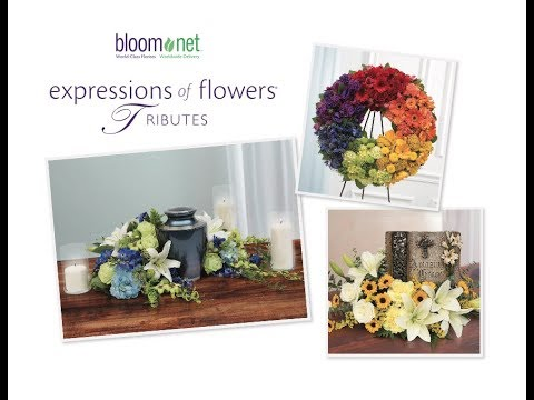 2017 BloomNet Expressions of Flowers - Tributes