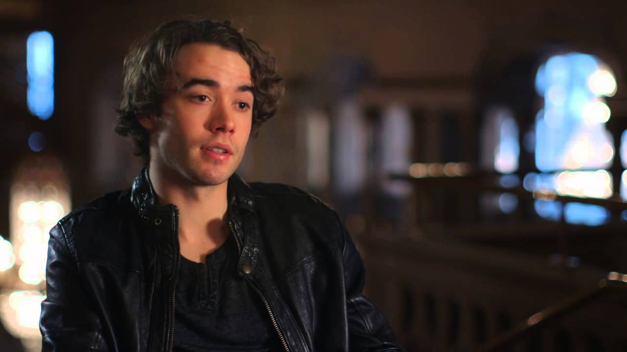 If I Stay 2014 Movie Interviews Actor Jamie Blackley Youtube