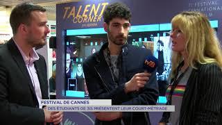 Cannes 2018 : des étudiants yvelinois présentent leur court-métrage
