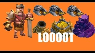 Clash of Clans Lets Play Episode 49: BIG RAIDS LOOT, MORTAR AND WIZARD TOWER UPGRADE