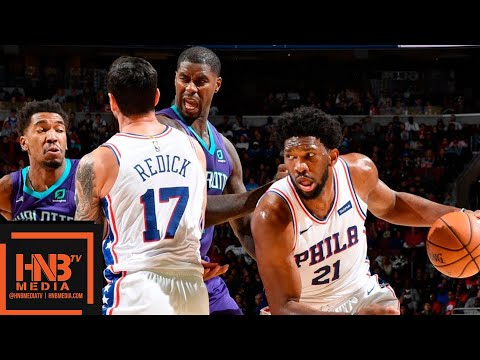 Philadelphia Sixers vs Charlotte Hornets Full Game Highlights | 10.27.2018, NBA Season