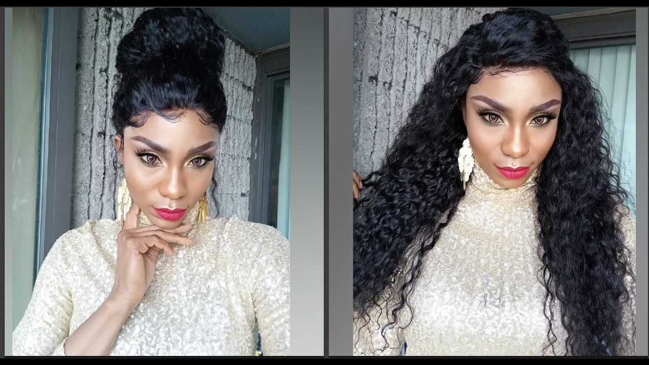 How To Style A Curly LaceFront Wig Ft. VipWigs