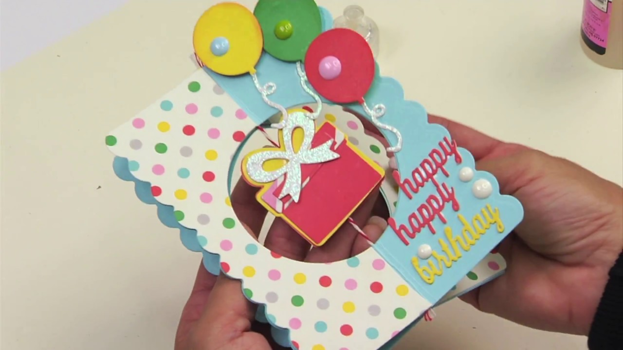 DIY 3D Birthday Card That Stands