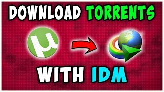 How To Download Torrents With IDM For Free - 2019
