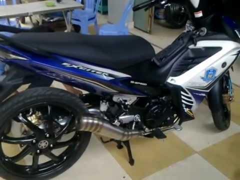 Xe độ Đà Lạt - Yamaha Exciter GP 165cc
