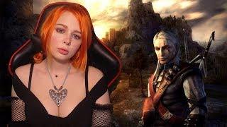 Обзор игры the Witcher 1 часть прохождение   Ведьмак #1 Трисс