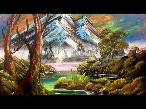 Image of: Abstract The Joy Of Spray Spray Painting Nature Art By Robert Stevens Youtube The Joy Of Spray Spray Painting Nature Art By Robert Stevens