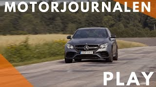 Mercedes AMG E63 S in anger