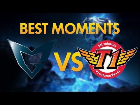 SKT T1 Vs Samsung Galaxy - BEST MOMENTS