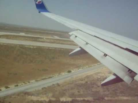 Boeing 737-800 Travel Service Landing at Tunisia Enfidha (NBE)