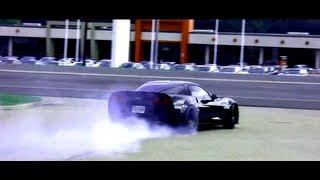 800HP Z06 Corvette Near Death Experience! Burn Out + 18 Wheeler