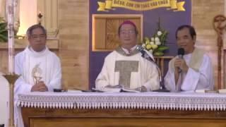 GDTM - Đại Lễ Kính Lòng Chúa Thương Xót - ĐTGM chủ tế