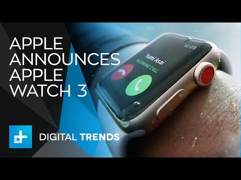 Apple Watch Series 3  Full Announcement From Apple's 2017 Keynote