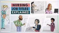 Nursing Job Titles Explained