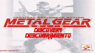 Metal Gear Solid OST - Discovery / Descubrimiento - 3/21 [HD]