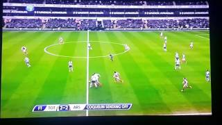 Stupid redcard Coquelin handsball tackle