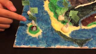 Relief map project by Superman28