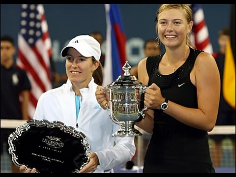 Maria Sharapova VS Justine Henin Highlight US Open 2006 Final