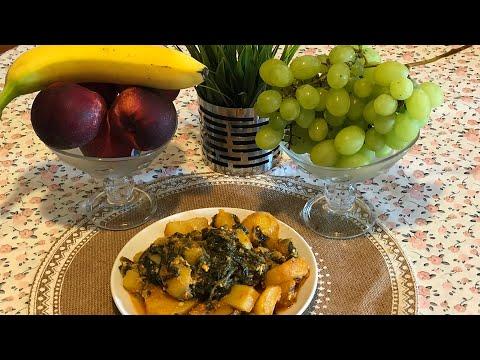 recette-à-l'ancienne-pomme-de-terre-et-épinard-👍