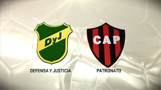 Defensa y Justicia vs Patronato de Parana full match