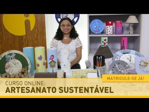 Curso Online de Artesanato Sustentável