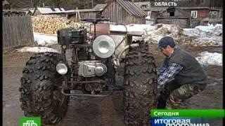 Вездеходы и амфибии в глубинках России