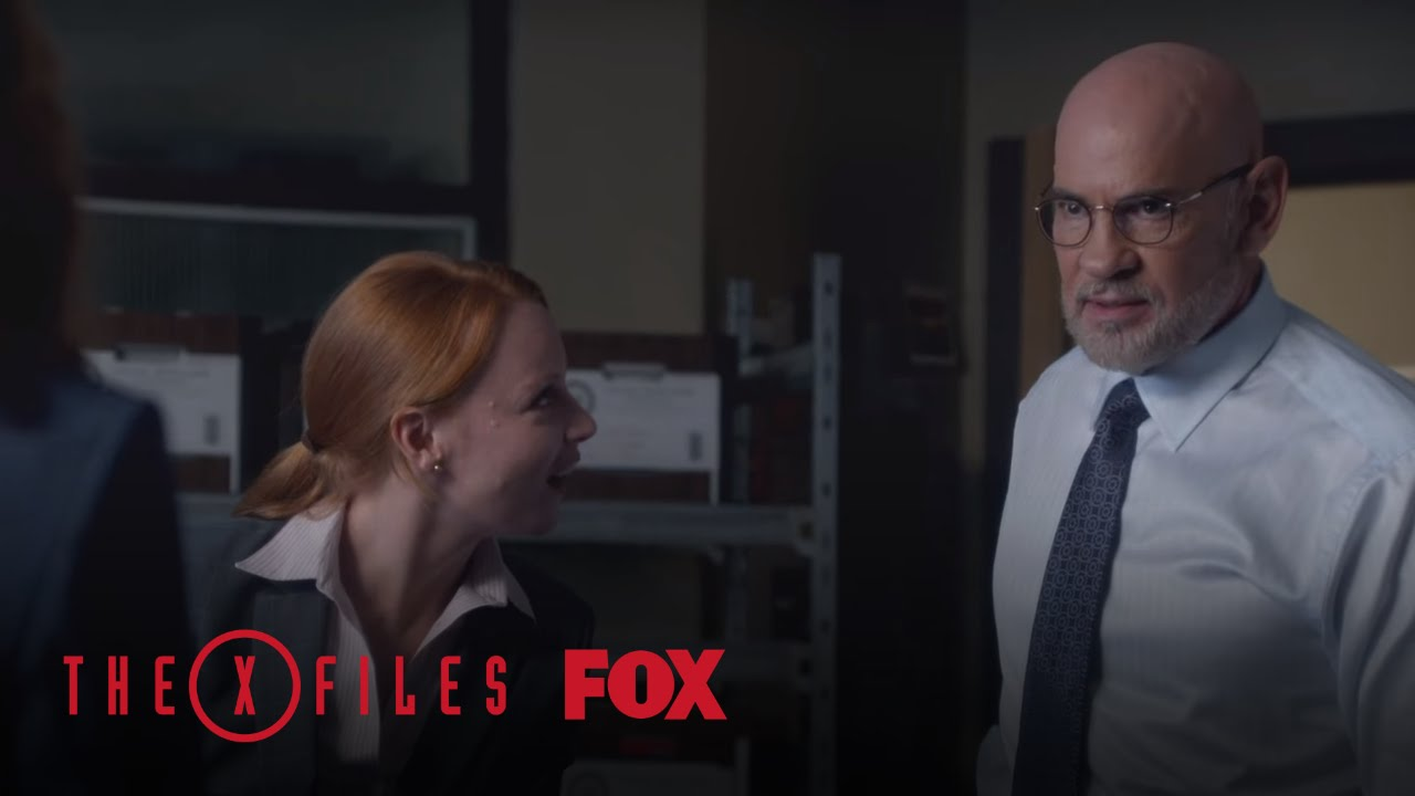 Download Agent Einstein Questions Scully About DNA Tampering | Season 10 Ep. 6 | THE X-FILES