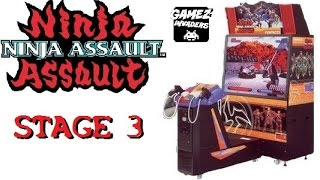 NINJA ASSAULT! Arcade Shooter! Light Gun Game Stage 3