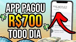 🤑APLICATIVO PARA GANHAR DINHEIRO PAGANDO R$700 POR DIA NO PIX - Como Ganhar Dinheiro na Internet