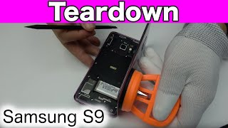 Samsung S9 Teardown & Disassembly &  Repair Video Guide