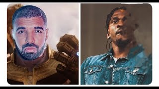 Drake Turns Pusha T into a 'Duppy' for Sneak Dissing him on his Album and Kanye catches some strays