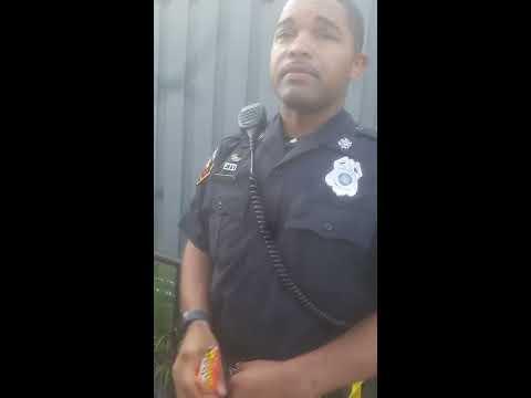 Racist cops in Baltimore