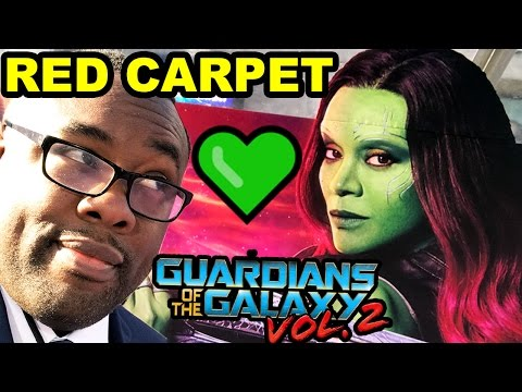 GUARDIANS of the GALAXY VOL. 2 PREMIERE - Andre On The Red Carpet