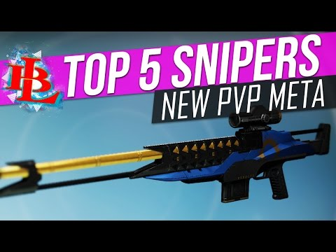 "Destiny ""Top 5"" SNIPERS in PvP"